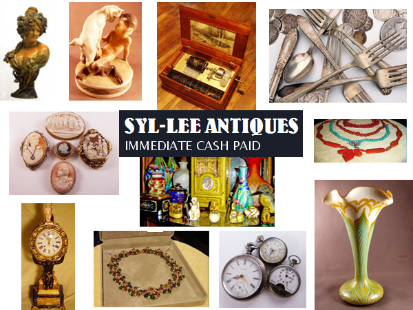 Syl Lee Antiques Buying Selling Antiques Collectibles Gold Silver