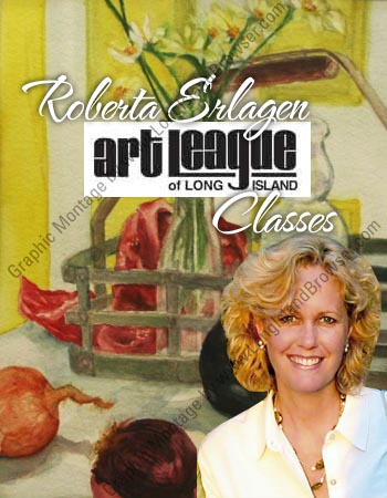 Watercolor kindergarten for adults ii roberta erlagen 39 s for Craft classes long island