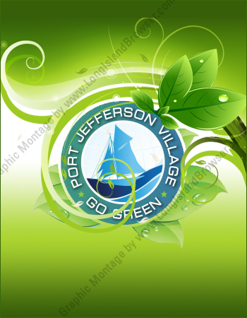 6th annual go green information fair by port jefferson for Facts about going green