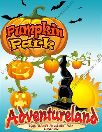 Adventureland pumpkin park 2016 halloween attraction long for Craft party long island