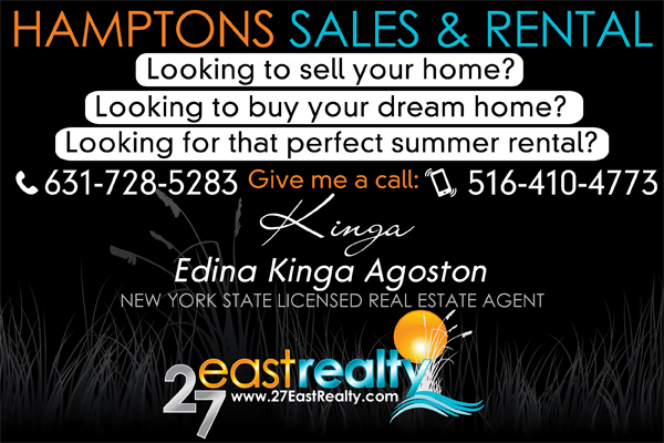 Hamptons Real Estate Sales and Rental