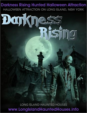Darkness Rising Halloween Haunted House Attraction Long Island