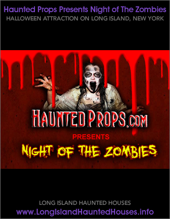 Halloween Haunted Props Night of The Zombies Haunted House Animatronics - Deer Park Long Island New York