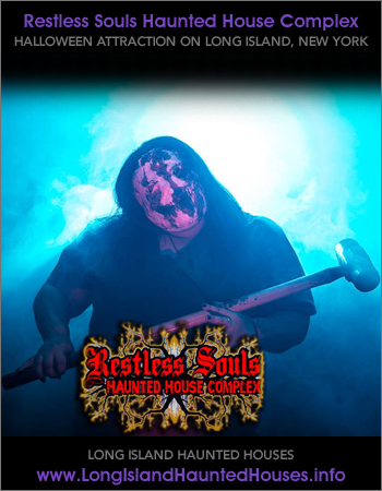 Restless Souls Haunted House Complex Halloween Attraction Huntington Station Long Island New York