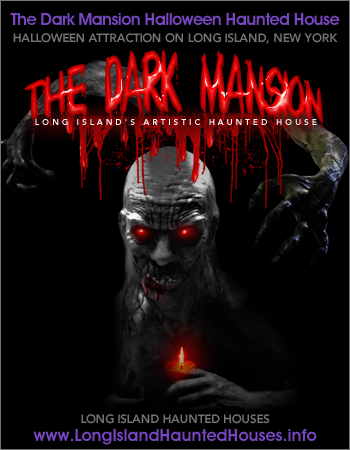 The Dark Mansion Halloween Haunted House at La Maison Blanche Hotel Shelter Island Heights
