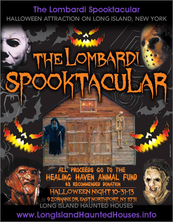 The Lombardi Spooktacular Residential Street Haunt and Haunted House - East Northport Long Island New York