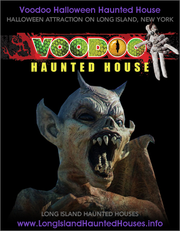 Voodoo Haunted House Halloween Attraction Speonk Long Island New York