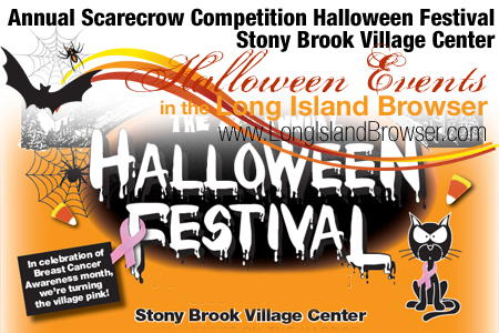 24th Annual Scarecrow Competition Halloween Festival Stony Brook Village Center