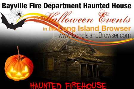 Bayville Fire Department Halloween Haunted Firehouse