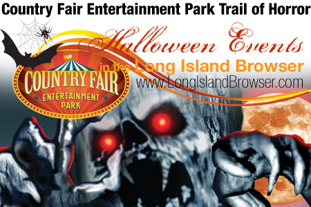 Country Fair's Trail of Horror Long Island Halloween Haunted House
