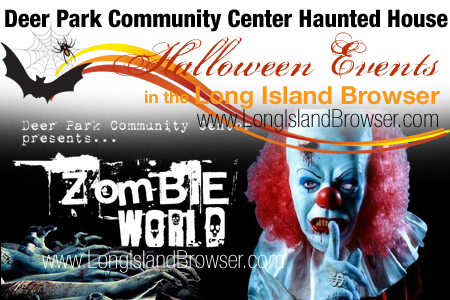 Deer Park Community Center Zombie World Halloween Haunted House