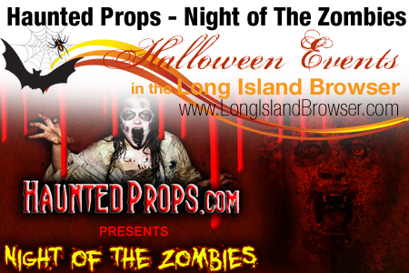 Haunted Props Night of The Zombies Haunted House Animatronics - Deer Park Long Island New York