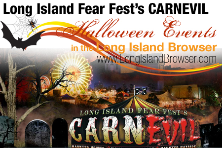 Long Island Fear Fest Haunted House Halloween Attraction - Old Bethpage Village Restoration Long Island New York