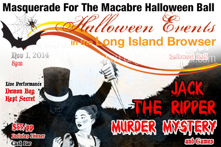 Masquerade For The Macabre Halloween Ball by Twitch Productions 2014 Halloween Event