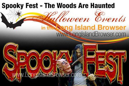 Spooky Fest - The Woods Are Haunted - Rockville Centre, Long Island, New York