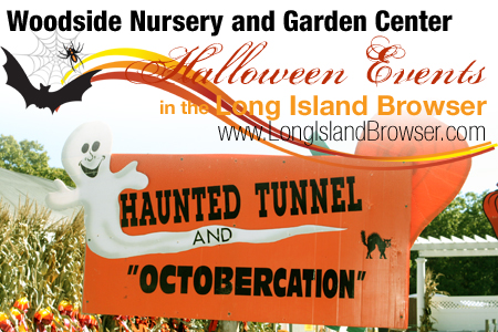 Woodside Nursery Garden Center Haunted Tunnel Octobercation Halloween Attractions Long