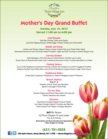 Brunch Mothers Day  Long Island