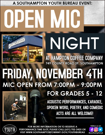 Long Island Comedy Clubs Open Mic