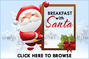Breakfast with Santa on Long Island New York