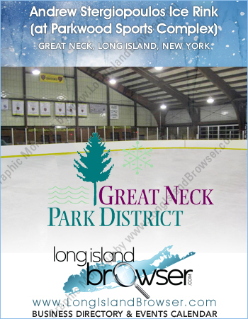 Andrew Stergiopoulos Indoor Ice Skating and Hockey Rink - Great Neck Long Island New York