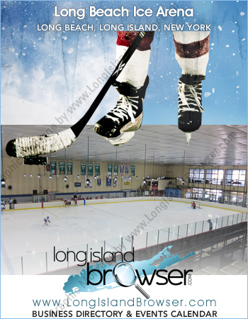 Long Beach Ice Arena Ice Rink Indoor Ice Skating and Hockey Rink - Long Beach Long Island New York