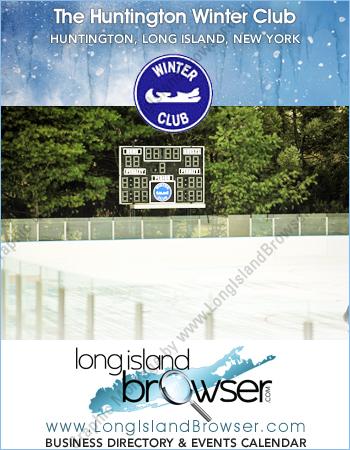 The Huntington Winter Club Indoor Ice Skating and Hockey Rink - Huntington Long Island New York