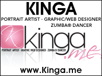Edina Kinga Agoston - Portrait Artist Graphic Web Designer - Long Island New York