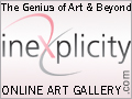 Inexplicity · The Genius of Art and Beyond · The Ultimate Online Art Gallery