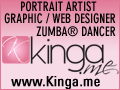 Edina Kinga Agoston - Portrait Artist Graphic/Web Designer Zumba Dancer