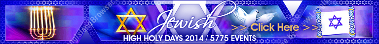 Long Island Jewish High Holy Days 2013/5774 Events and Services