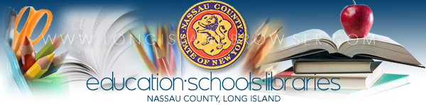 Education, Schools, Libraries - Nassau County, Long Island, New York