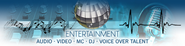 Long Island entertainment, audio, video, DJ, DJs, voice over talents