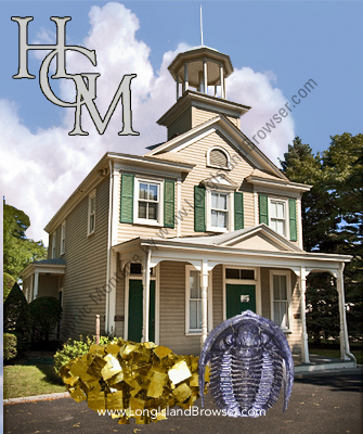 The Hicksville Gregory Museum - Long Island Earth Science Center - HIcksville Nassau County Long Island New York
