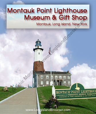 Montauk Point Lighthouse Museum and Gift Shop - Montauk Suffolk County Hamptons Long Island New York